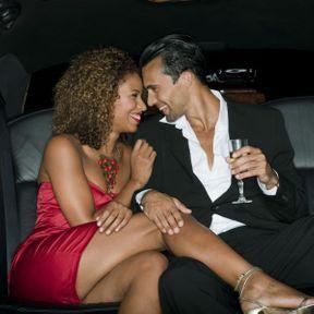 Limousine et champagne