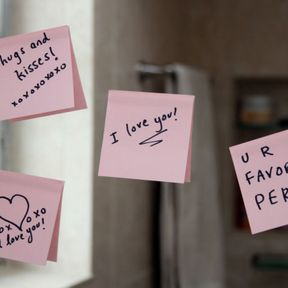 Les post-it de l'amour