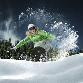 Les ballons, skis et snowboards