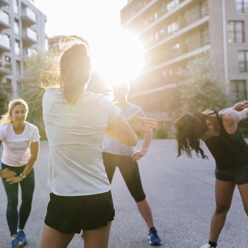 84% des Français ont envie de faire plus de sport