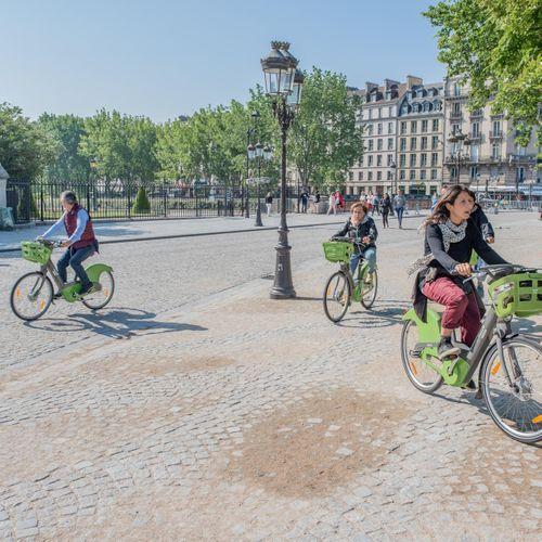 Paris est l'une des villes du monde qui propose le plus de vélo en libre-service