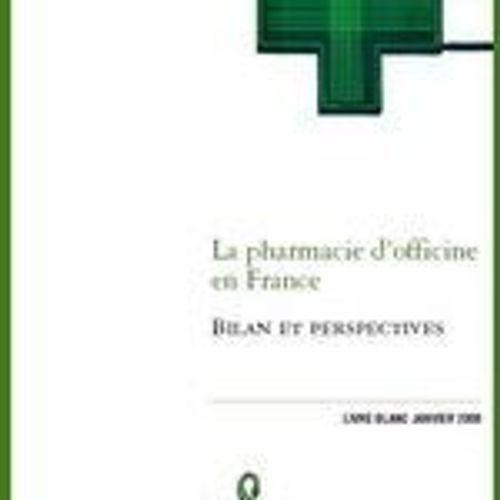 Les pharmaciens lancent leur livre blanc