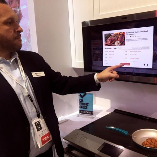 La cuisine mijotée à la technologie au CES de Las Vegas