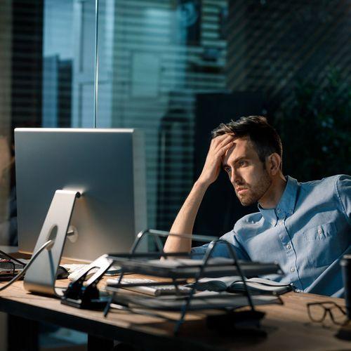 Un Français actif sur cinq présente un risque de trouble psychique