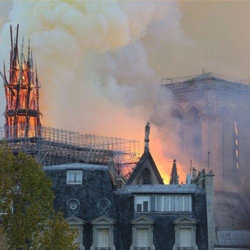Incendie de Notre-Dame : un risque d'intoxication au plomb ?