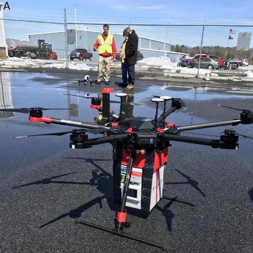 Un rein livré par drone pour une greffe